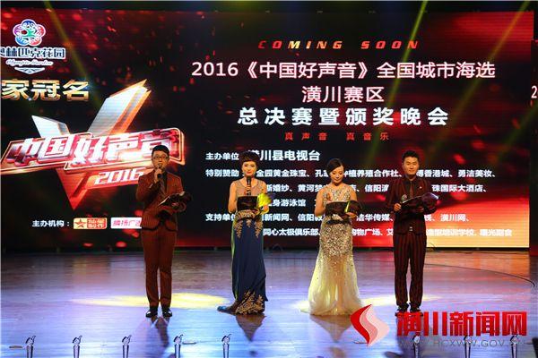 潢川《中国好声音》总决赛现场