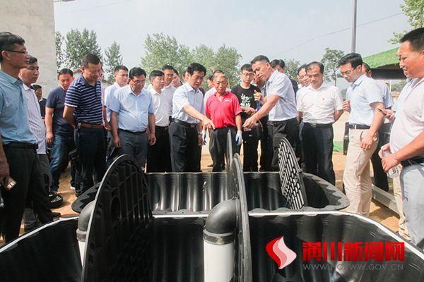 潢川县召开农村户厕改造现场观摩会