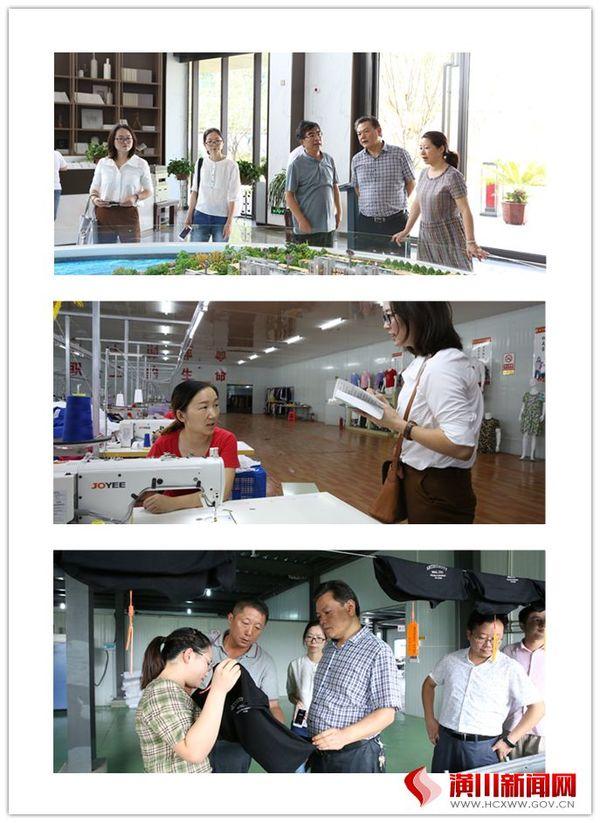 信阳日报赵雪峰一行来潢川采访新中国成立70周年以来城乡巨变