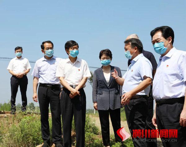 乔新江到潢川县调研基层党组织建设工作